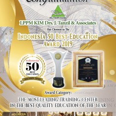 Indonesia 50 Best Education Award 2019